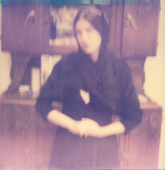 Jeanne Pagan Collar Hood MelleSan -Selfportrait- by Jeanne MADIC - web